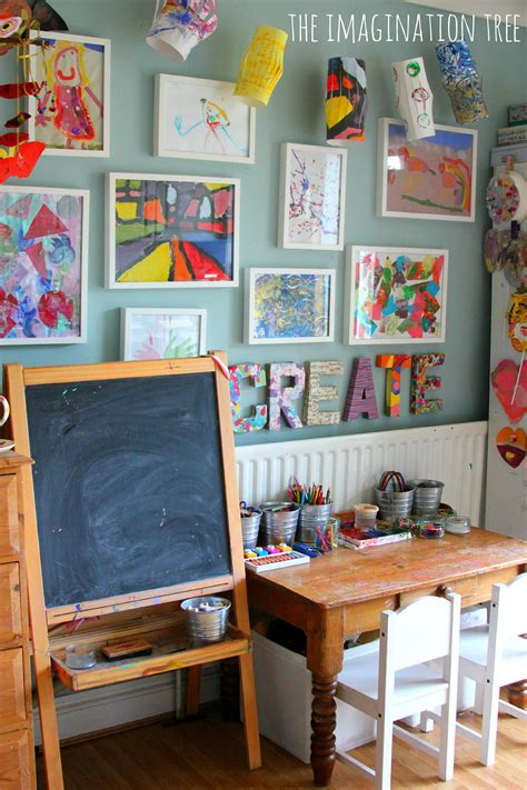 10 Ways To Create An Amazing Room On A Budget Creative Arts Area And Gallery For The Imagination Tree