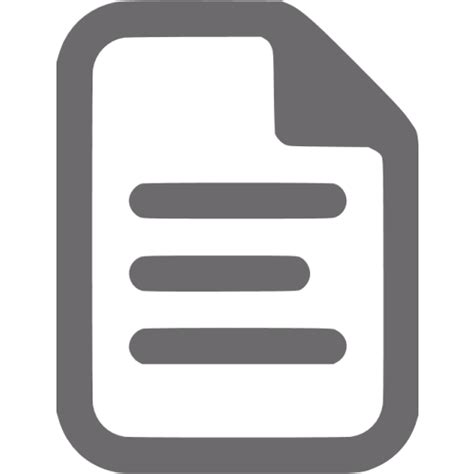 dim gray document icon  dim gray file icons