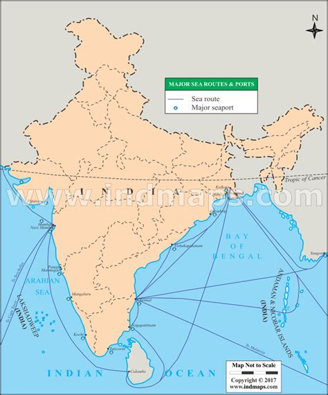map usa to india sea routes map sea routes of india