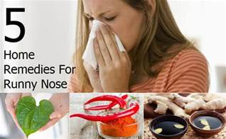 home remedies for nasal discharge