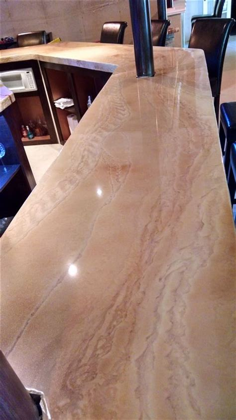 Clear Epoxy Coating For Countertops by Top 25 Best Epoxy Countertop Ideas On Bar Top