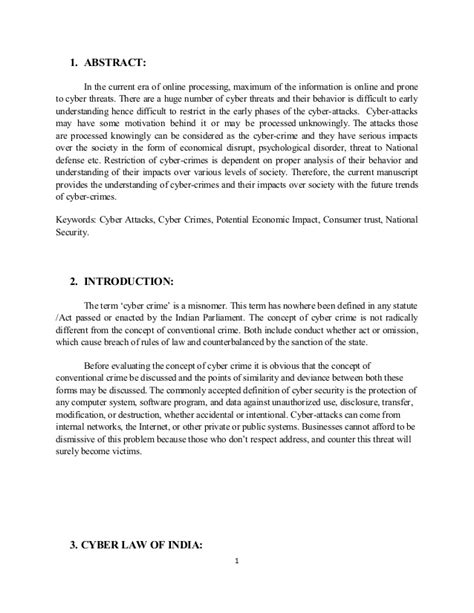 Cyber Crime Essay Introduction by Cyber Crime Report