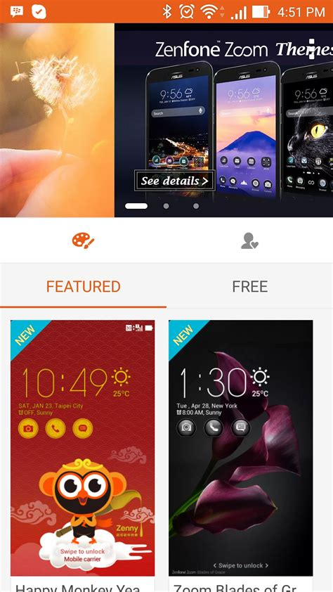 themes mobile asus how to completely change the look of the zenfone selfie