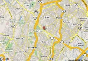clifton map map of howard johnson clifton clifton