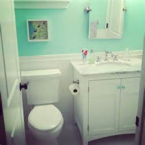 Mint green bathroom this is the kids bathroom color