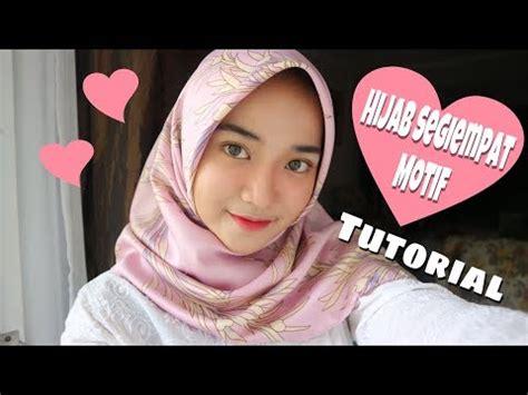 Jilbab Segiempat Mutiara 3 tutorial laudya cynthia doovi