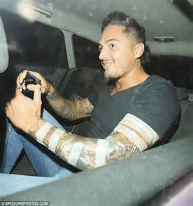 mario falcone enjoys dinner for two with mystery blonde