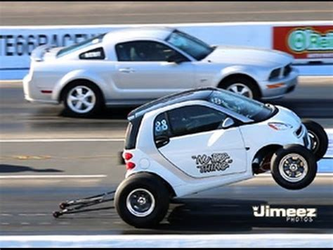 V8 Smart Car by Quot Nu Big Thing Quot Smart Car 462ci Vs Gt Mustang At Rt66