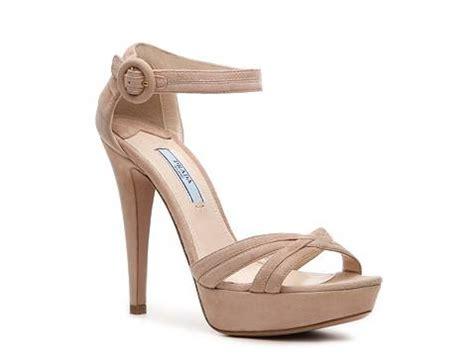 dsw platform sandals prada suede platform sandal dsw
