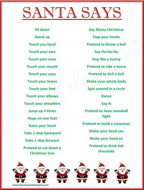 Attractive Games To Play With Youth Groups At Church #8: Santa-says-watermarked-2.png