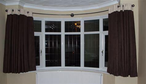 curved curtain pole bay window curtain poles