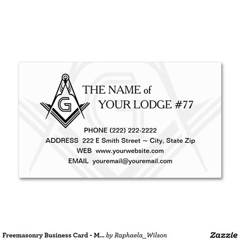free masonic business card templates 79 best images about masonic business cards invitations
