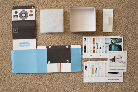 polaroid card template a clever polaroid promo mailer made with card stock