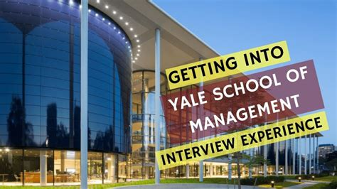 Yale Mba Requirements by Mba Scholarships At Yale School Of Management In Usa 2018