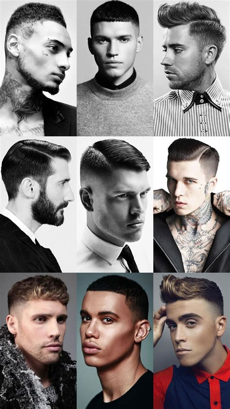 mens hair cut styles with clip numbers get the right haircut key men s hairdressing terminology