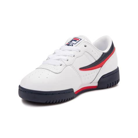 youth fila original fitness athletic shoe white 1372579