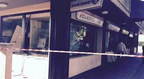 banco san marco martellago boato nella notte sentito da mezzo paese esploso un bancomat
