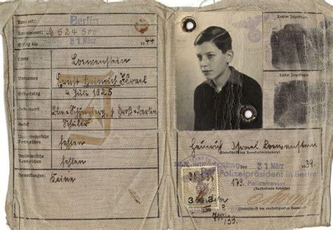 printable holocaust id cards kristallnacht and kindertransport 1938 183 the loewenstein
