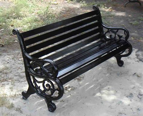 iron outdoor bench cast wrought iron garden bench jbeedesigns outdoor