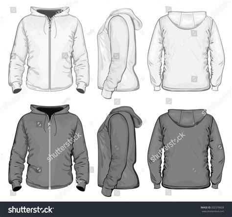 Sweater Zipper U Backfront Logo vector s hooded sweat shirt with zipper back front