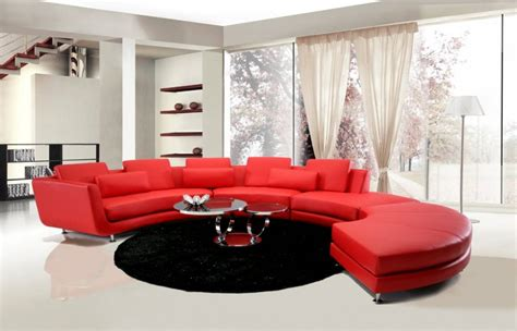 modern la furniture luxury italian top grain leather sectional sofa sterling