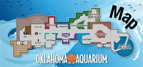 Map Floor Plan by Oklahoma Aquarium Maplets