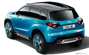 Suzuki Cars Suv Suzuki Unveils Iv 4 Compact Suv Concept Autoconception