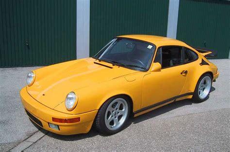 porsche yellow bird top 10 fastest cars of the 80s