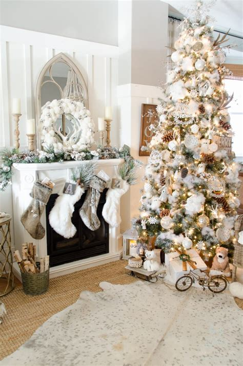 10 tips on how to decorate a christmas tree rustic glam