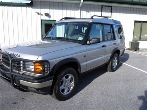electronic stability control 1999 land rover discovery series ii seat position control purchase used 1999 land rover discovery series ii automatic suv awd 4x4 non smoker no reserve in