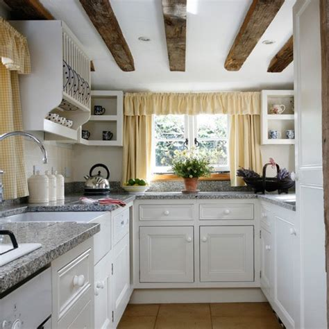 small country kitchen design ideas open shelving small kitchen design housetohome co uk