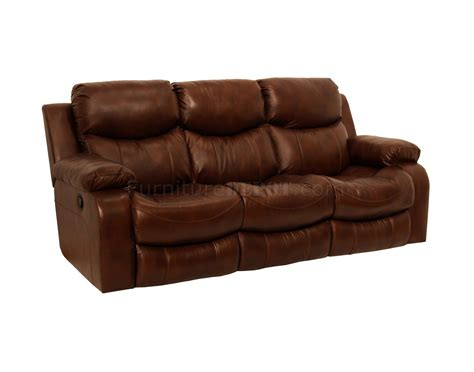 catnapper tobacco top grain leather dallas motion sofa w