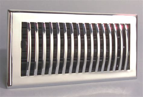 Decorative Ac Vents by Chrome Air Registers Chrome Air Vent Covers