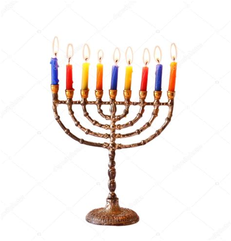 google images menorah jewish holiday hanukkah background with menorah burning