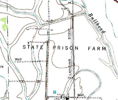 texas prisons map abandoned known airfields texas western houston area