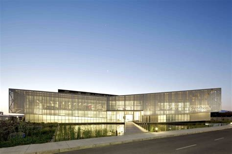 arch lab architects synthon laboratory building gh a guillermo hevia