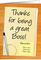 Thank You For Gift Card From Boss - thank you cards for boss from greeting card universe