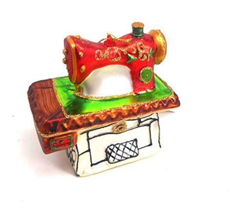 sewing machine christmas ornaments diy crush