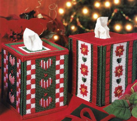 christmas tissue box covers