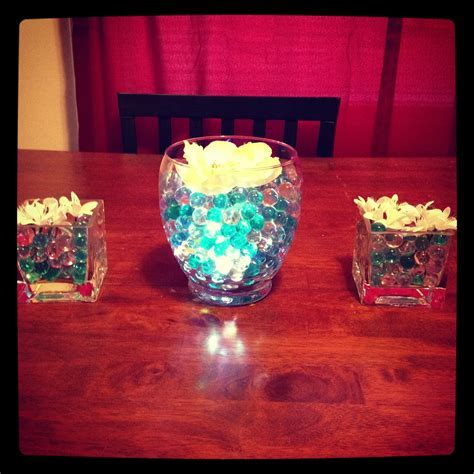 Water beads centerpieces   Pretty
