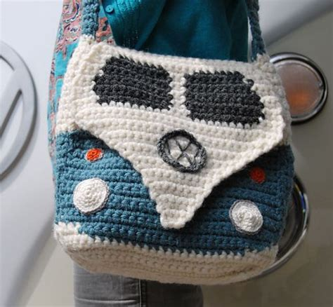 vw crochet bag pattern ravelry crochet pattern for a splitty cervan kombi