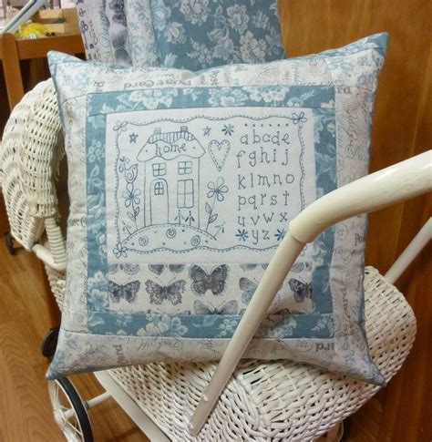 Patchwork Shops Nz - home pillow patchwork embroidery the country