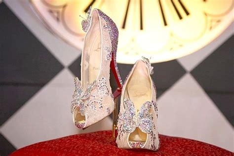 louboutin glass slipper christian louboutin s cinderella glass slippers revealed
