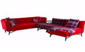 Armchairs Fabric 4 Seater Velour Fabric Sofa Profile Nouveaux Classiques