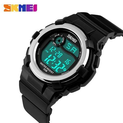 Jam Tangan Skmei Black skmei jam tangan anak dg1161 black jakartanotebook