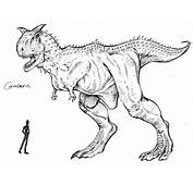 Carnotaurus Coloring Pages
