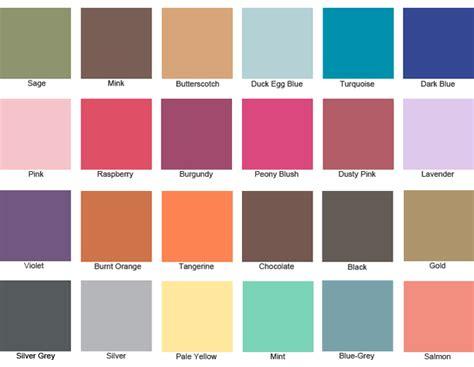wedding color swatches colour swatches colour colour swatches