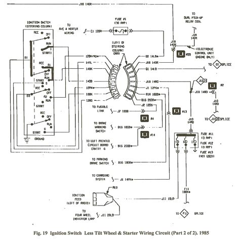 car wiring diagram ignition switch dodge 7 pin wiring