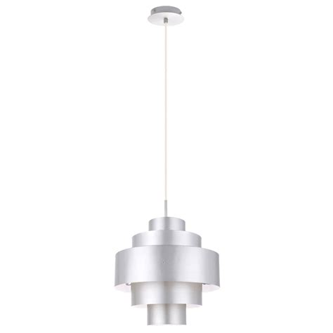 Pendant Light Cover Cover Pendant L Hanging L Light Lighting Aluminium Silver Eglo 91038 Cronos Ls