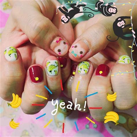 monkey nail for new year year of the monkey nail nails magazine